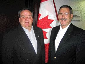 Bruce Langille and Charles Parker, 2007 RIMS Canada Conference Co-chairs