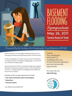 ICLR Basement Flooding Symposium