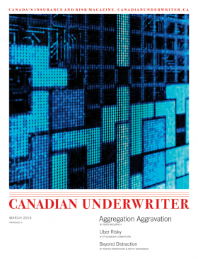Canadian Underwriter March 2016 issue