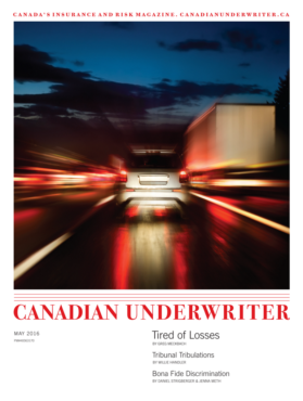 Canadian Underwriter May 2016 issue