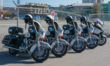 Motorcycles Vancouver police