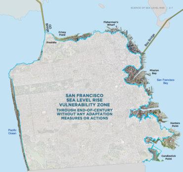 screenshot san fran sea level rise web