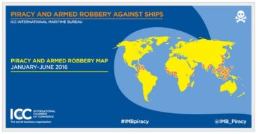 Piracy and Armed Robbery Against Ships, January-June 2016