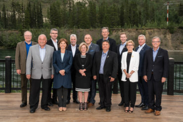 Premiers summer meeting Yukon 2016