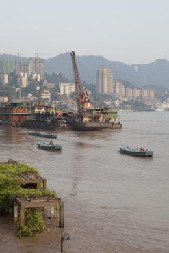 Chongqing during the 2010 flood
