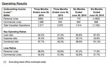 Echelon's Operating Results