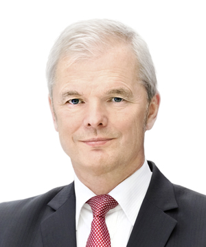 Ulrich Wallin, chief executive officer of Hannover Re