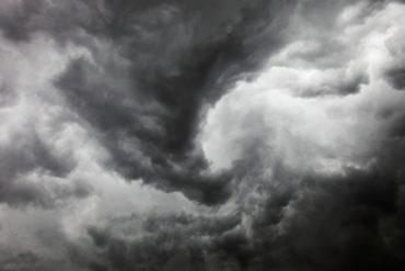 Tornado storm sky
