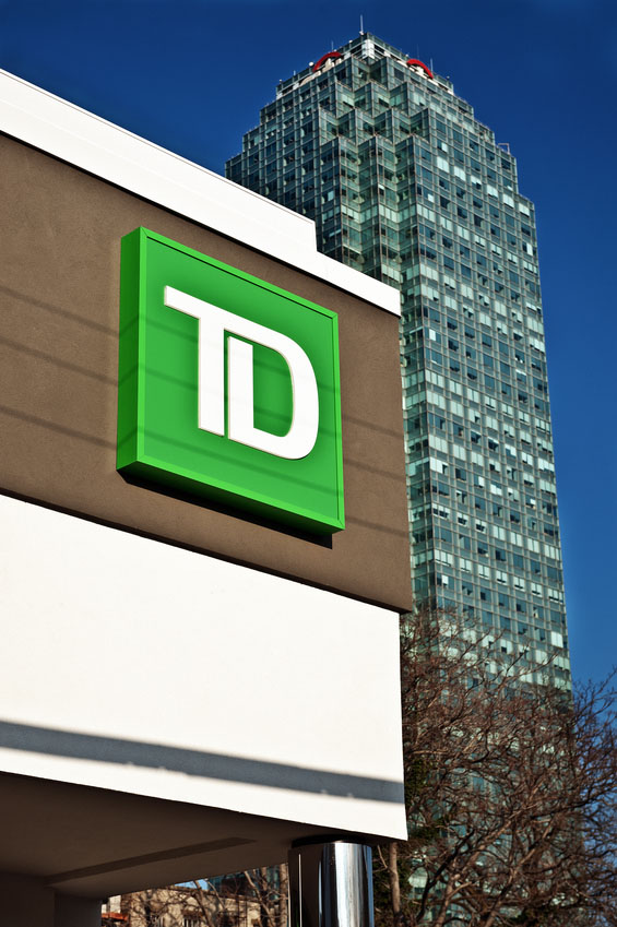 TD Bank Sign in New York CY - Canadian Underwriter Canadian