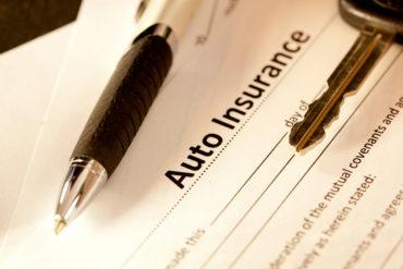 Auto insurance form