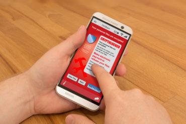 Ransomware Phone Hacked by Cryptolocker Virus