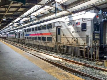 Path on Hoboken Terminal