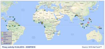 Global Piracy Map