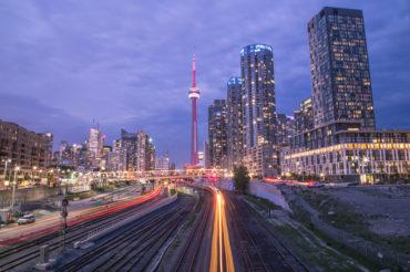 Rail signals Toronto