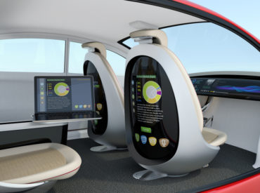 Autonomous car interior concept