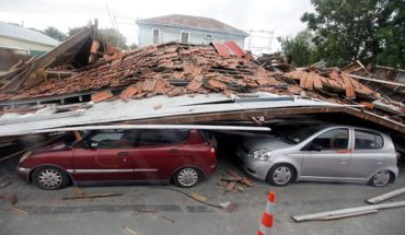 New Zealand Earthquake 2011 Comparison