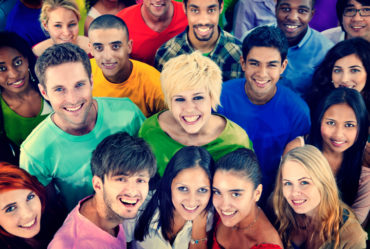 Diverse People Friends TogetheressTeam Community Concept