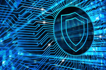 Hardware security, computer data protection and electronic technology concept