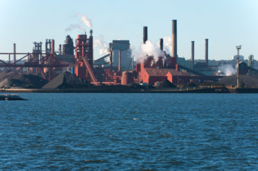 Steel Mill by Harbour