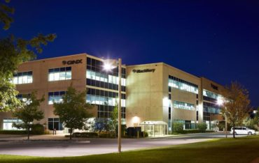 The BlackBerry QNX Autonomous Vehicle Innovation Centre (AVIC) resides at the BlackBerry QNX headquarters in Ottawa, Ontario. Photo Source: Morguard