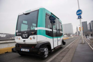 France Self Driving Bus