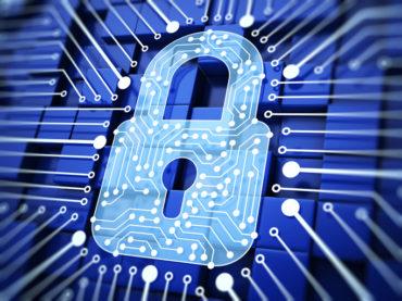Lock. Internet Security