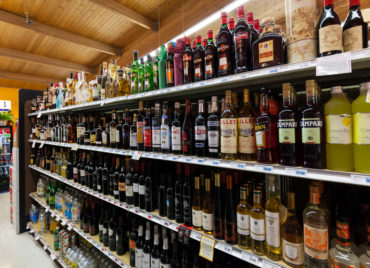 Grocery Store Liquor Department