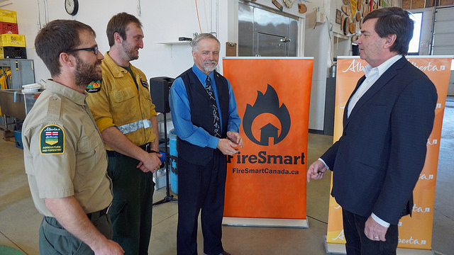 Alberta government provides $15M a year for FireSmart program, up