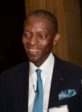Moses Ojeisekhoba, CEO of Reinsurance for Swiss Re