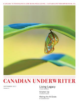 Canadian Underwriter September 2017 Digital Edition Cover