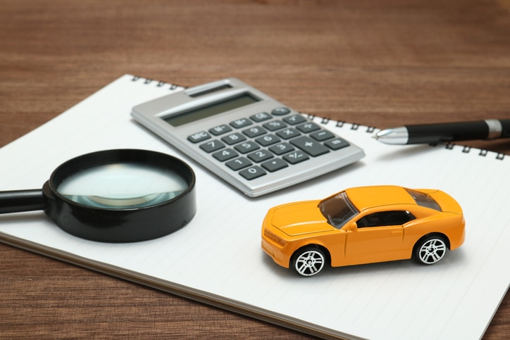 Toy Car Magnifying Glass Calculator Pen And Notebook Canadian Underwriter Canadian Underwriter