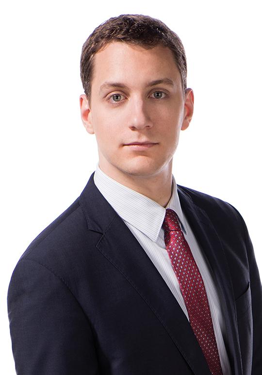 Zack Garcia, associate, Fidelity Practice Group, Blaney McMurtry LLP