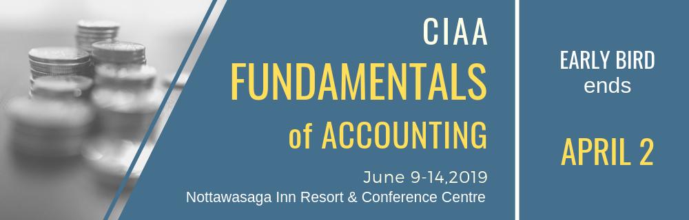 Ciaa Fundamentals Of Accounting 2019 Canadian Underwriter