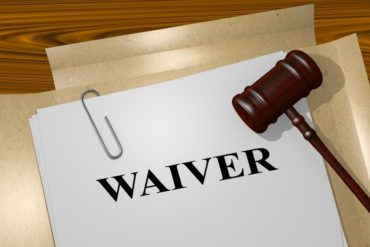 Does a business have to highlight a waiver of liability to a