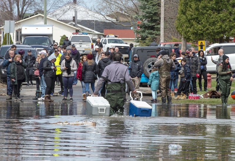 Quebec warns no emergency shelters for spring flooding amid COVID 19 outbreak