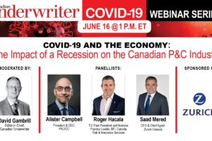 <span style=color:#ff0000>CU Webinar:</span> Industry execs to discuss impact of economic recession on Canada's P&C industry
