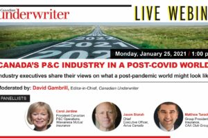 Senior execs to discuss a post-COVID world in the Canadian P&C industry