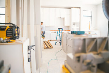 Remodelling a home kitchen