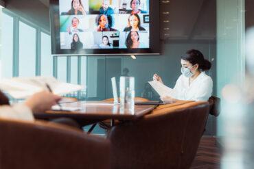 Hybrid office design