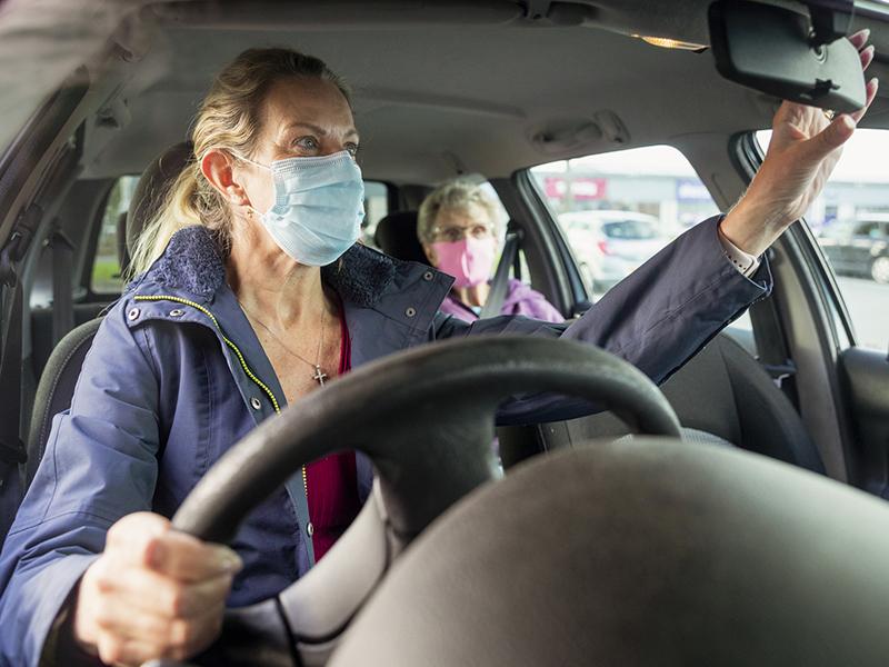 car mirror adjustment